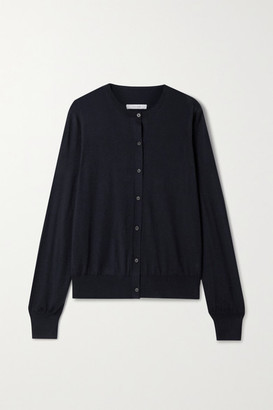 The Row Battersea Cashmere Cardigan - Midnight blue