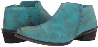 Roper Selina (Blue Burnished Leather) Cowboy Boots