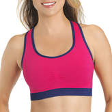 Lily of France Seamless Reversible Crop Full-Coverage Bra