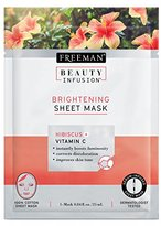 Freeman Beauty Infusion Mask Brightening Sheet (6 Pieces) Dsply