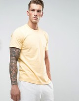 Converse Essentials T-Shirt In Yellow 10000658-A20