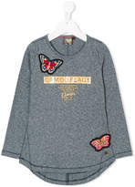 Vingino butterfly patch top