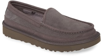 UGG Dex Moc Toe Water Resistant Leather Slipper