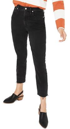 Madewell High Waist Slim Crop Boyfriend Jeans