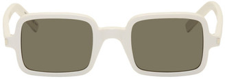 Saint Laurent White SL 332 Sunglasses
