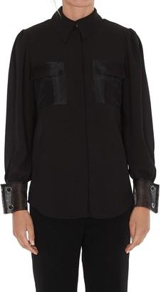Elisabetta Franchi Pocket Detailed Shirt