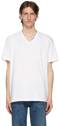 Calvin Klein Underwear Three-Pack White V-Neck Classic-Fit T-Shirt
