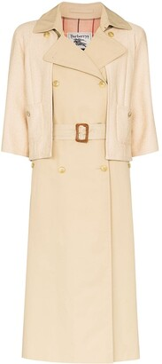 Tiger In The Rain Hybrid Layer-Look Trench Coat