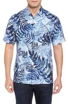 Tommy Bahama Glade Tropics Regular Fit Silk Sport Shirt