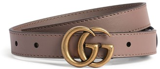 Gucci Leather Mini Marmont Belt Size 65