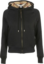Burberry House Check Zipped Hoodie
