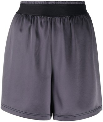 Filippa K Soft Sport High-Waisted Track Shorts