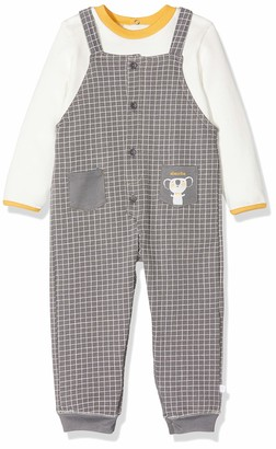 Absorba Baby Boys' 7p36381-ra Ens Salopette Clothing Set