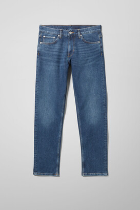 Weekday Easy Regular Straight Jeans - Blue