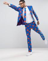 Oppo Suits OppoSuits Superman Slim Suit + Tie
