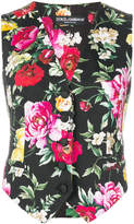 Dolce & Gabbana floral print gilet