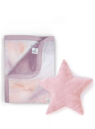 Sandstone Cuddle Blanket & Star Dream Pillow Set