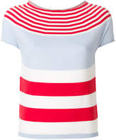 Blugirl multi-stripe T-shirt