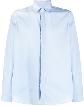 Valentino concealed front fastening shirt