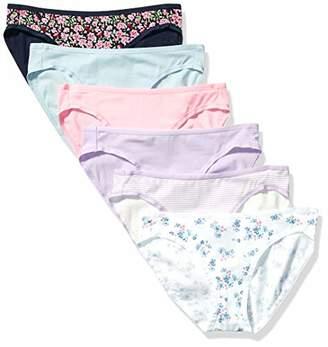 Amazon Essentials 6-Pack Cotton Bikini Underwear Style,XL