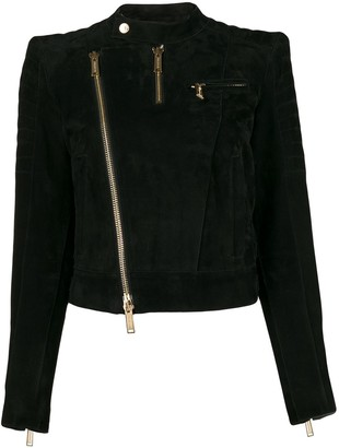 DSQUARED2 Cropped Biker Jacket