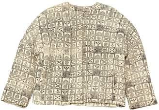 Polder White Cotton Jackets