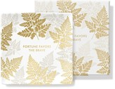 Fringe Fortune Favors Square Tray
