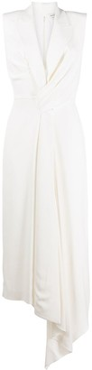 Alexander McQueen Drape Evening Dress