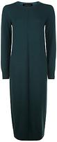 Jaeger Cashmere Double Trim Dress, Green