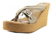 Sbicca Pescadero Open Toe Leather Wedge Sandal.