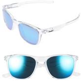 Oakley Women's Trillbe X 52Mm Polarized Sunglasses - Black Ink/ Violet Iridium P