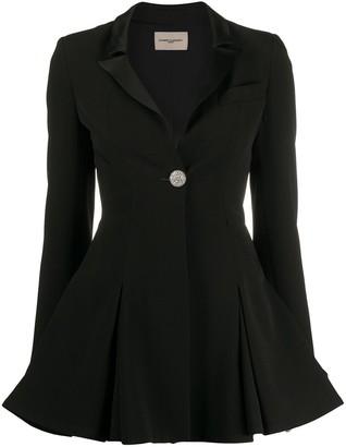 Giuseppe di Morabito Studded Flared Blazer-Style Dress