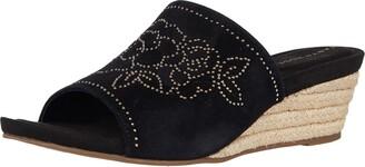 Taryn Rose Women's Slip on Espadrille Wedge Sandal