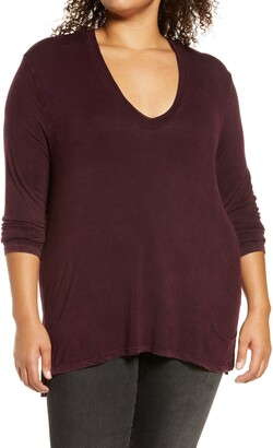 Treasure & Bond Mineral Wash Long Sleeve T-Shirt