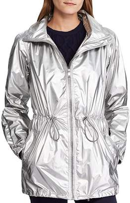 Ralph Lauren Metallic Hooded Zip Jacket