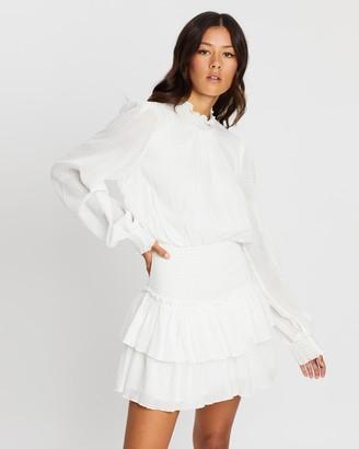 MinkPink Mylee High Neck Mini Dress