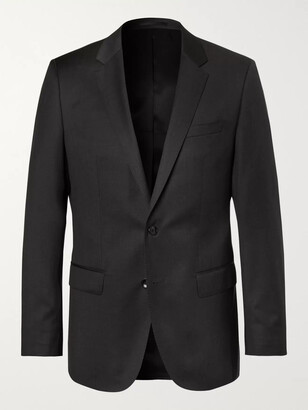 HUGO BOSS Grey Hayes Slim-Fit Super 120s Virgin Wool Suit Jacket - Men - Gray
