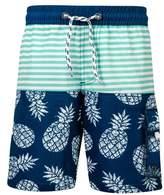 Snapper Rock Pineapple Mint Stripe Board Shorts