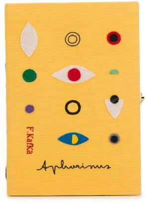 Olympia Le-Tan Aphorisms book clutch