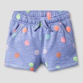 Cat & Jack Baby Girls' Knit Lounge Shorts Cat & Jack - Jacaranda