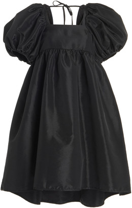Cecilie Bahnsen Tilde Taffeta Mini Babydoll Dress