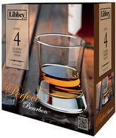 Libbey Set of Four Perfect Bourbon Glasses