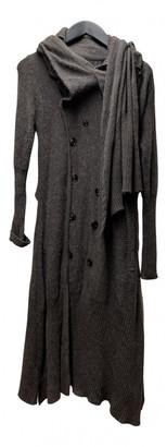 Undercover Brown Wool Coats