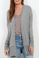 Three Dots Brushed Sweater Cardigan