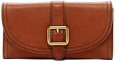 Frye Claude Leather Buckle Wallet