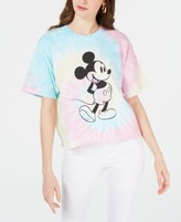 Thumbnail for your product : Disney Juniors' Cotton Mickey Mouse Tie-Dyed T-Shirt