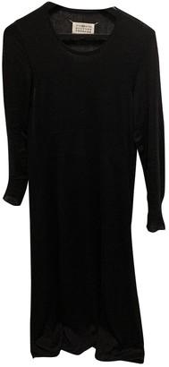 Maison Margiela Black Wool Dresses