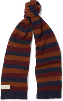 Oliver Spencer - Ola Striped Wool-blend Scarf