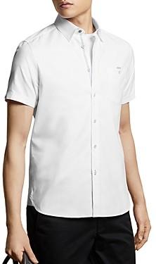 Ted Baker Men's Cotton Short-Sleeve Slim Fit Shirt