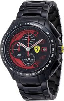 Ferrari 0830086 45mm Black Steel Bracelet & Case Mineral Men's Watch
